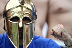 Fan greci Fotografia Stock Libera da Diritti