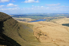 Brecon Beacons, Wales. Fan Gyhirch in the Brecon Beacons Stock Image