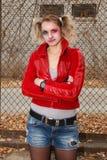 Fan Harley Quinn Royalty Free Stock Photos