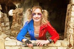 Fan Harley Quinn Royalty Free Stock Image