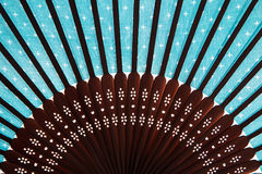 Fan. Here is a chinese type fan Royalty Free Stock Image