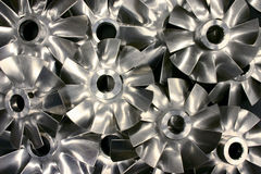 Fan or Impeller Blades Royalty Free Stock Image