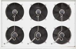 Fan industriali del condizionatore d'aria Fotografia Stock