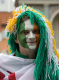 fan irlandczyk Poznan Zdjęcia Stock