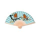 Fan for kabuki dance. Geisha accessories.  Stock Images