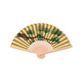 Fan for Kabuki dance. Geisha accessories Royalty Free Stock Photo