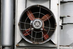 big industrial Fan, ventilator Stock Photo