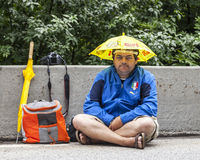 Fan of Le Tour de France Stock Photo