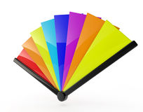 FAN (mång- färg) Arkivfoto
