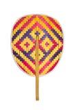 Fan made from bamboo(thai native). Stock Photos