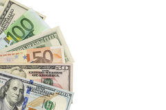 Fan of money Stock Images