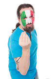 Fan from the national team of Italy Stock Photos