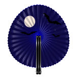 Fan and night Stock Image