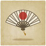 Fan old background Royalty Free Stock Photo