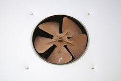 Fan oxidized Stock Photo