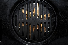 Fan part of an oven Stock Image