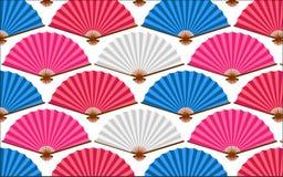 Fan Pattern Stock Photo