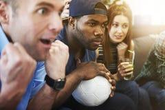 Fan piłki nożnej zdjęcia royalty free