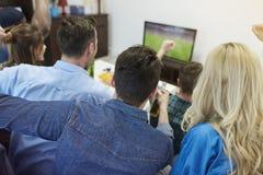 Fan piłki nożnej obraz stock