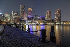 Fan Pier Park, Boston, Massachusetts stock images