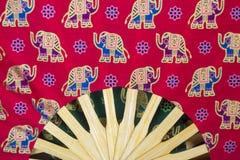 Fan rouge asiatique image stock