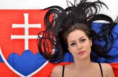 Fan slovaque Photo stock