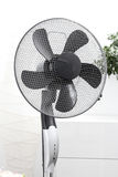 Fan standing in the room Royalty Free Stock Images