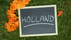 Fan-stuff for the Netherlands Stock Photography