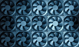 Fan turbine background Stock Images