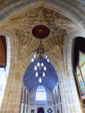 Church fan vaulting and ceiling Stock Photography