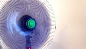 Fan ventilator. In action, rotating stock video footage