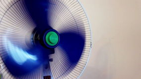 Fan ventilator. In action, rotating stock footage
