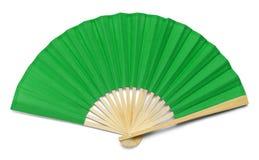 Fan verde Immagine Stock Libera da Diritti