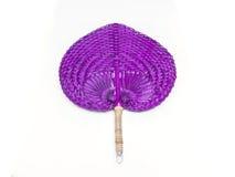 Fan violeta de la armadura Imagenes de archivo