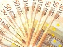 Fan von Banknoten Lizenzfreies Stockfoto