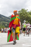 Fan von Le-Tour de France Stockbilder
