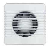 Fan on white Royalty Free Stock Images
