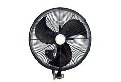 Fan on white background royalty free stock image