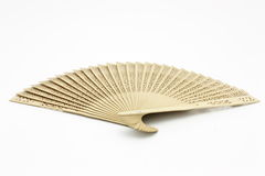 Fan wooden Royalty Free Stock Image