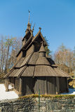Fana stavechurch Stock Photos