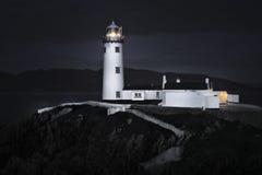 Fanad灯塔Co Donegal爱尔兰 库存照片