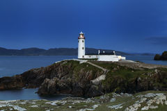Fanad fyr Co Donegal Irland Royaltyfria Bilder