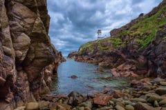 Fanad głowy latarnia morska w Irlandia zdjęcie stock
