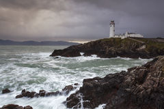 Fanad Head Lighthouse. Co. Donegal, Ireland Royalty Free Stock Photo