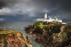 Fanad Head Lighthouse Donegal royalty free stock images