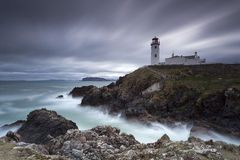 Fanad Head Lighthouse II. Fanad Head Lighthouse, Inishowen Peninsula, Co. Donegal, Ireland Stock Photos