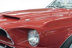 Fanale anteriore dell'automobile sportiva Immagini Stock