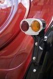 Fanale posteriore d'annata classico dell'automobile Fotografie Stock