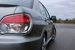 Fanale posteriore sparato di un tailight automobilistico di sport Immagine Stock
