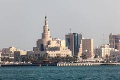 FANAR Katarski Islamski Kulturalny centrum Fotografia Stock